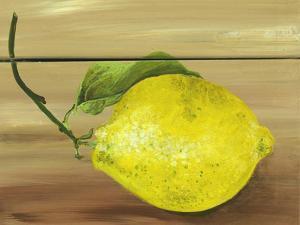 Lemon on a box by Gigi Begin