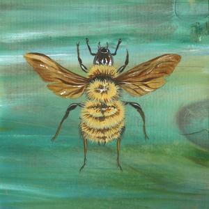 Yellow Bumble Bee by Gigi Begin