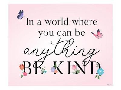 Be Kind Butterflies