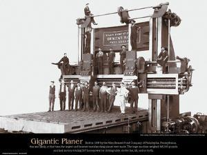 Gigiantic Planer - Educational Poster