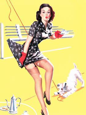 Blind Date Pin-Up 1940s by Gil Elvgren