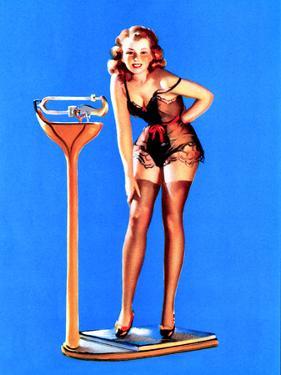 Figures Don't Lie Pin-Up 1939 by Gil Elvgren