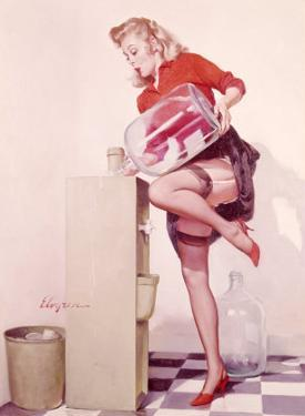 Pin-Up Girl: Sexy Office by Gil Elvgren