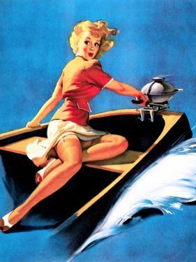 See Worthy Pin-Up 1944 by Gil Elvgren