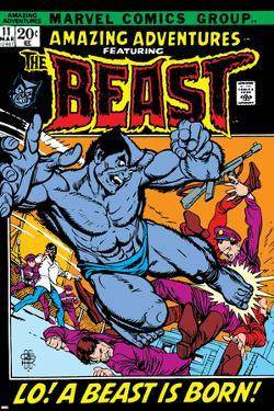 Amazing Adventures No.11 Cover: Beast by Gil Kane