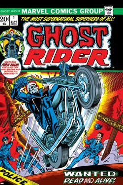 Ghost Rider No.1 Cover: Ghost Rider by Gil Kane