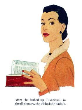 "Petticoat Empire II - Saturday Evening Post ""Leading Ladies"", May 26, 1951 pg.23 by Gilbert Bundy"
