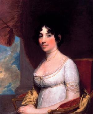 Dolley Payne Madison (Mrs. James Madison) by Gilbert Stuart