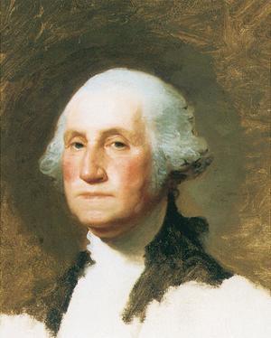 George Washington by Gilbert Stuart