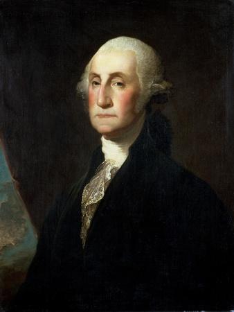 Portrait of George Washington, before 1801