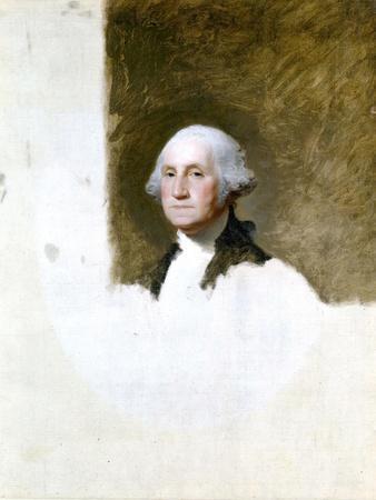 Portrait of George Washington (The Athenaeum Portrait)