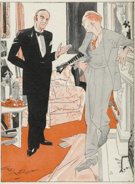 Jeeves Gives Notice When Bertie Wooster His Employer Insists on Playing the Banjolele by Gilbert Wilkinson