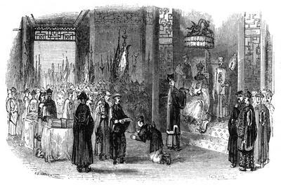 Annual Ceremony of Presenting the Almanacks, 1847