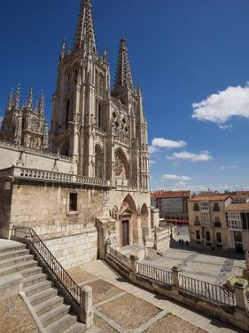 Burgos Cathedral, Burgos, Castilla Y Leon, Spain, Europe by Giles Bracher