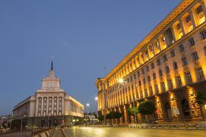 Presidential Palace, Ploshtad Nezavisimost, Former Communist Party Head Quarters by Giles Bracher