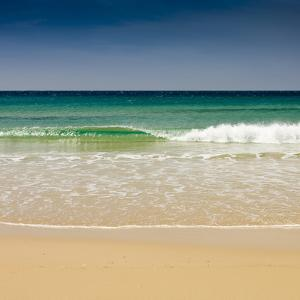 Small Wave, Los Lances Beach, Tarifa, Andalucia, Spain, Europe by Giles Bracher
