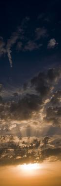 Sunset Sky, Large Format Vertical Panoramic, West Sussex, England, United Kingdom, Europe by Giles Bracher