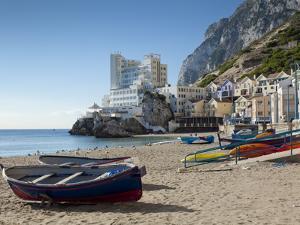 The Caleta Hotel, Catalan Bay, Gibraltar, Europe by Giles Bracher