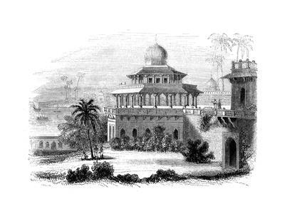Chalees Satoon, or the Pavilion of the Forty Pillars, 1847