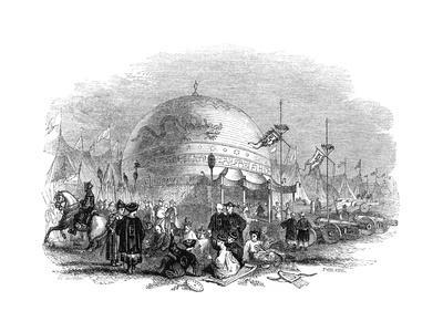 Grand Ceremony of Trying the Cannon, 1847