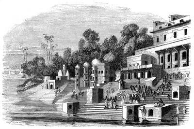 The Favourite Wife of Afzul Khan Preparing for the Suttee, 1847