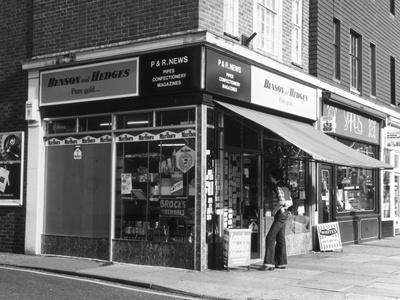London Newsagents 1970s