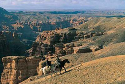 Canyon du Tcharyn, Kazakhstan