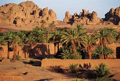 Oasis Bardai, Tchad