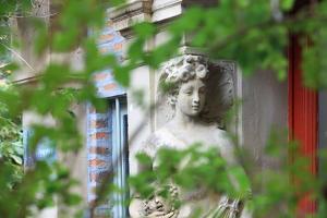 Artists' workshops passage de Dantzig in Paris (15th arrondissement). 2012 by Gilles Targat