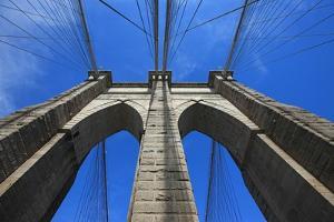 Brooklyn bridge, New York City, USA. September 16, 2012 by Gilles Targat