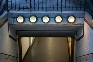 Metro station Place d'Iena in Paris. December 2012 by Gilles Targat