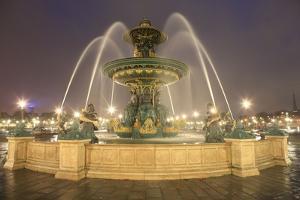 Place de la Concorde in Paris. November 10, 2012 by Gilles Targat