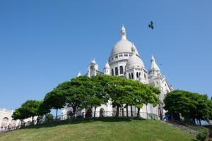 The Sacre Coeur, Paris. July 7, 2013 by Gilles Targat