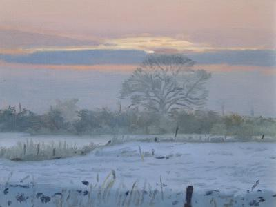 Winter Sunset, 1997