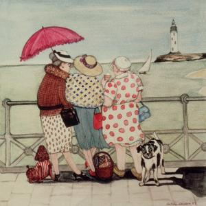 At the Seaside by Gillian Lawson