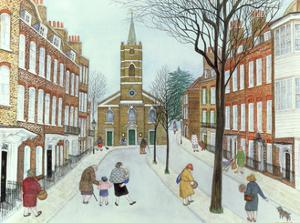 Church Row II, Hampstead by Gillian Lawson