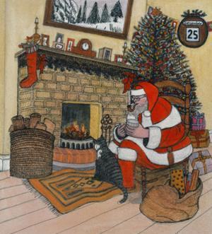 Father Christmas by Gillian Lawson