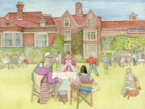 Glyndebourne, 2018 by Gillian Lawson