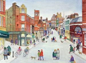 Heath Street, Hampstead by Gillian Lawson