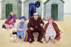 On the Beach by Gillian Lawson