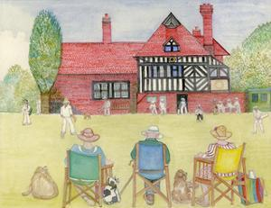 The Cricket Match by Gillian Lawson