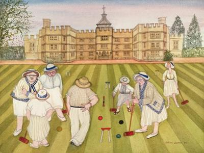 The Croquet Match by Gillian Lawson