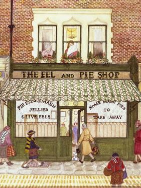 The Eel and Pie Shop, 1989 by Gillian Lawson