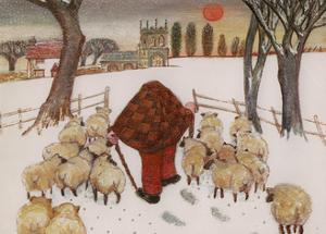 The Shepherd Returns, 1985 by Gillian Lawson