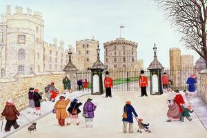 Windsor Castle Hill by Gillian Lawson