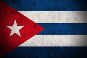 Grunge Flag Of Cuba by Gilmanshin