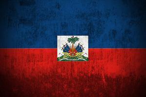 Grunge Flag Of Haiti by Gilmanshin