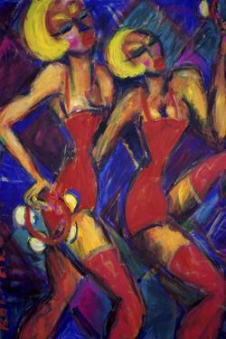Tambourine Twins by Gina Bernardini