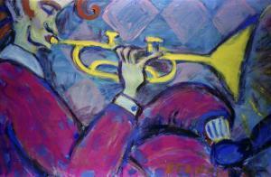 Trumpet by Gina Bernardini