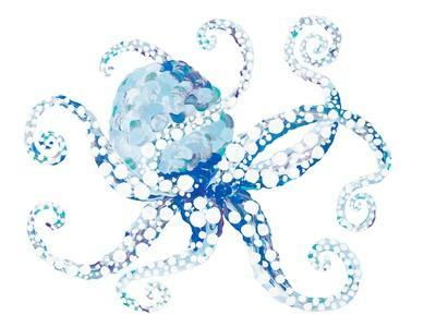 Azul Dotted Octopus I